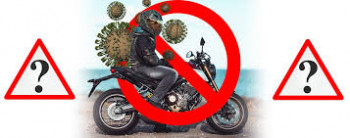 Motorradfahren Ausgangssperre